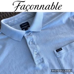 Faconnable Classic Fit Men Polo Shirt